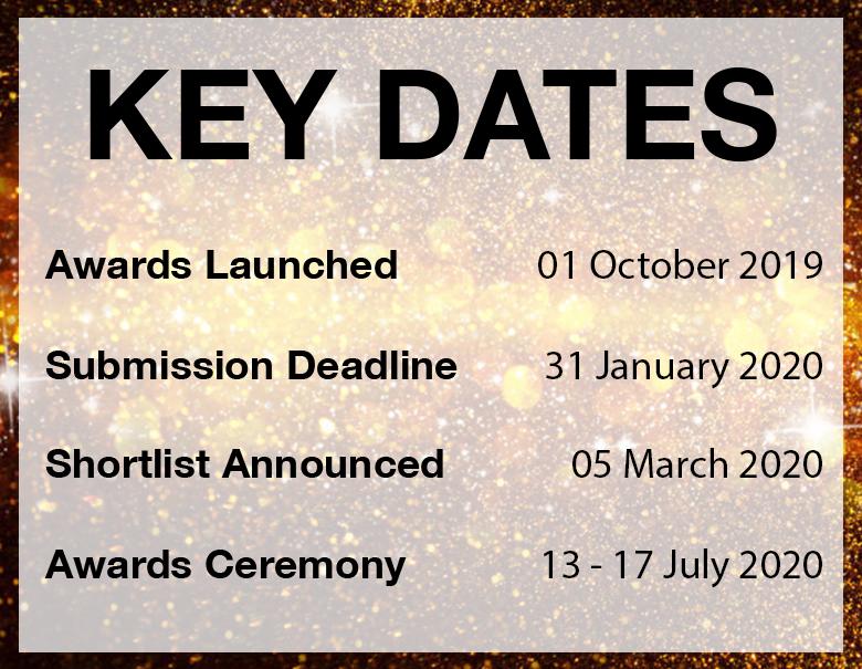 Key Dates 2020